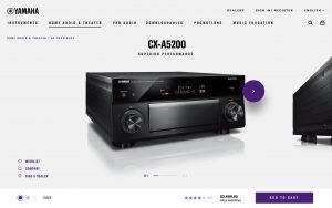 Yamaha Product Detail Page